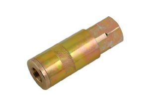 "Connect 35184 Connect Double Action Female Air Line Coupling 1/4"" Pk 2"
